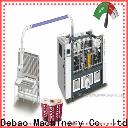 New Debao Machinery hollow plastic cup making machine price in india price for super market
