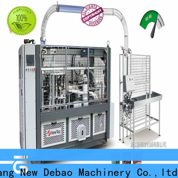 New Debao Machinery paper thali making machine for business for coffee cup