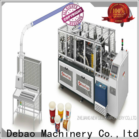 speed cost of paper cup making machine manufacturing for coffee cup