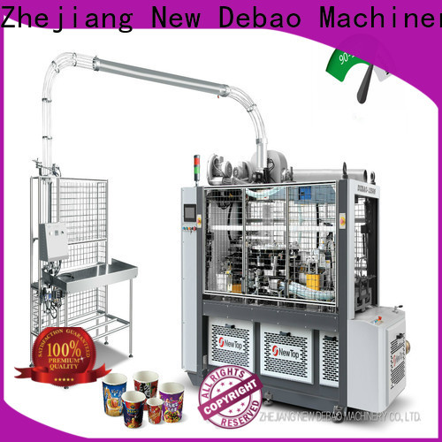 New Debao Machinery paper plate machine price in bangalore factory for super market