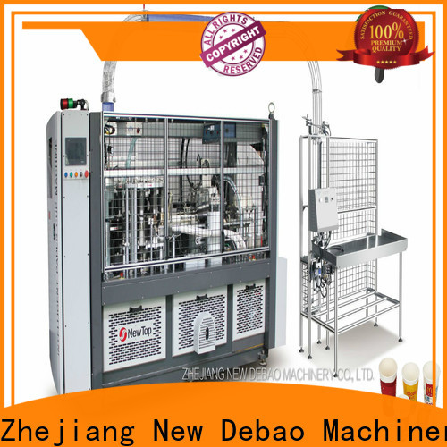 New Debao Machinery paper products manufacturing machines for sale for paper cup