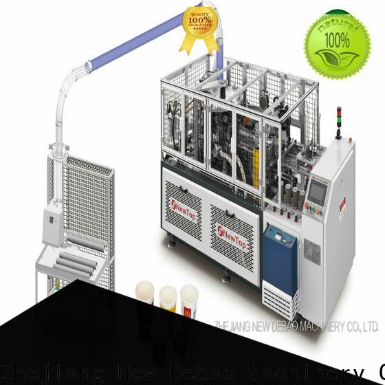New Debao Machinery latest paper cups and plates making machine manufacturers for paper cup
