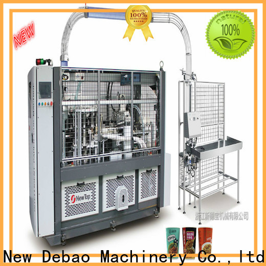 double wall disposable cup making machine